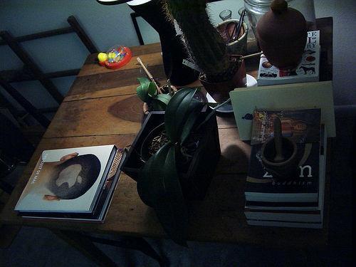 the stuff around me (my old apartment)