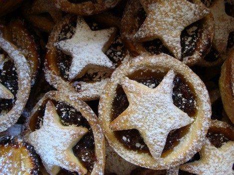 Home made mince pies