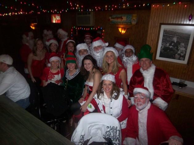 Fellow Santa Pub Crawlers
