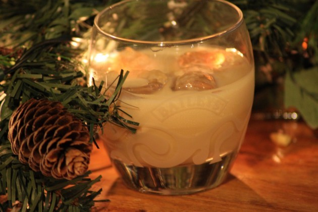 Christmas in a glass.