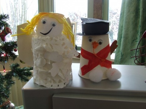 Home-made decorations