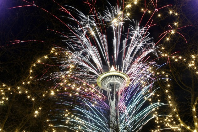 APTOPIX Seattle New Year