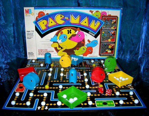 Vintage 1980 Atari Pac-Man Board Game