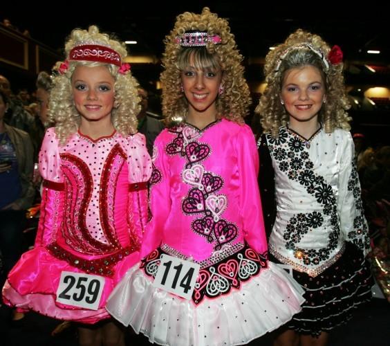 18/4/2011. World Irish Dancing Championships Dubli