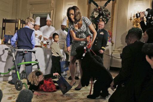 Michelle Obama White House Christmas
