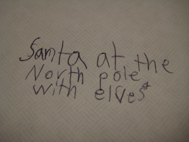 Oddly specific Santa address