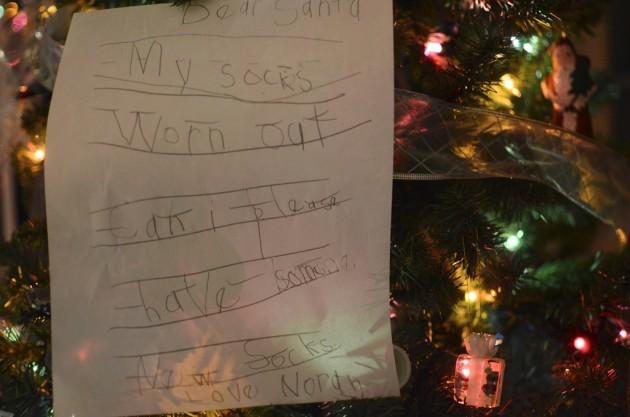 Letter to Santa #2
