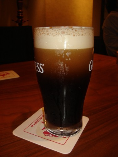 Frothy Guinness