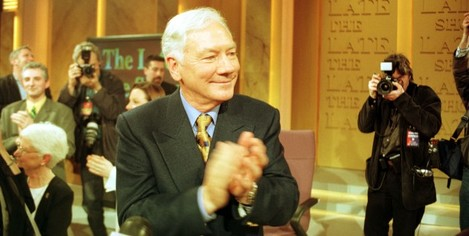 RTE TELEVISION RADIO PRESENTERS HOSTS LEGENDS THE LAST EVER LATE LATE SHOW WITH GAY BYRNE