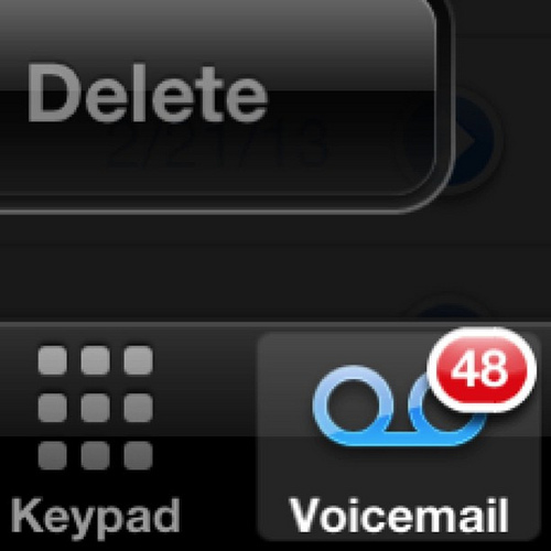 I have #Voicemail messages. #KAPOW