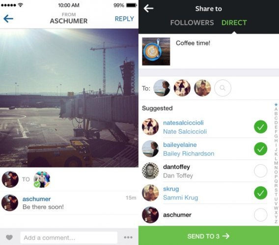 Instagram launches private photo messaging service · TheJournal ie