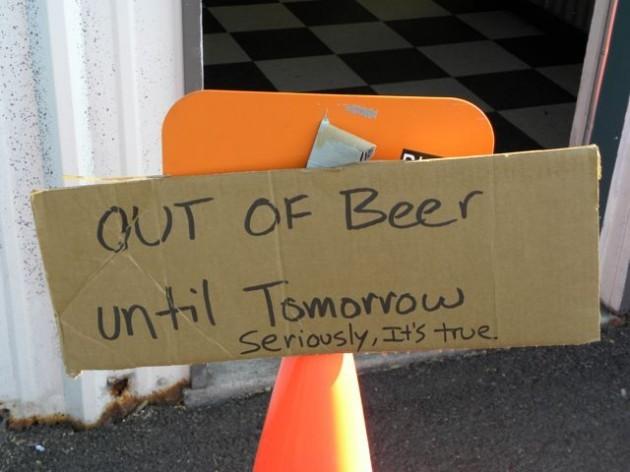 Boneyard-Out-of-Beer-Sign