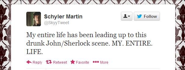 7 staggering similarities between 'drunk Sherlock' and drunk YOU
