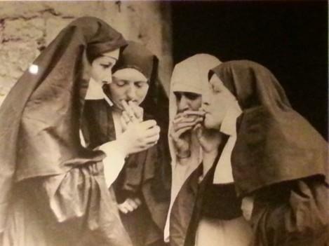 Smoking nuns