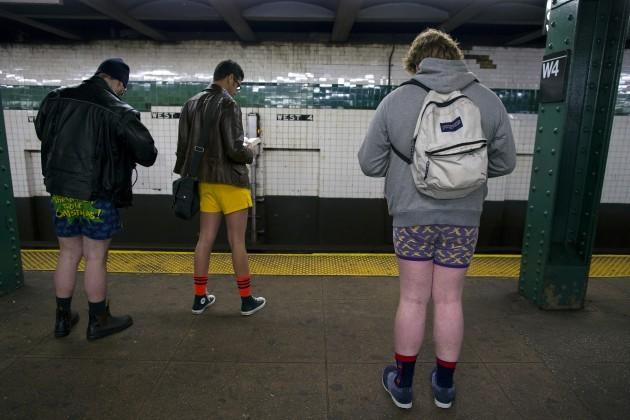 No Pants Subway Ride New York