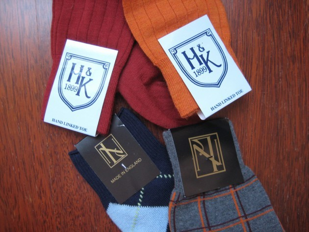 Hilditch & Key / New & Lingwood socks