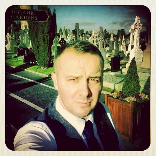Any excuse for a #Selfie #MuseumSelfie #Glasnevin #GlasnevinCemetery #Dublin #VisitDublin