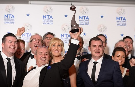 National Television Awards 2014 - Press Room - London