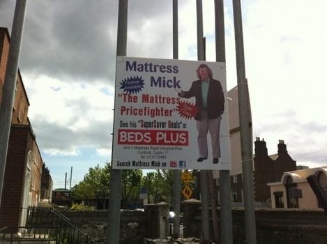 Mattress Mick, North Strand