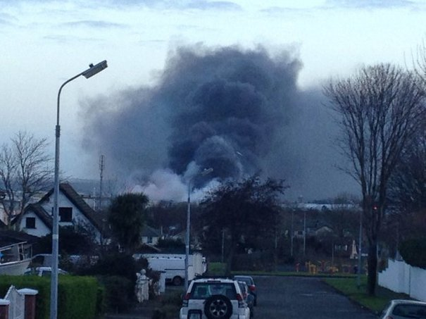 Ballymount Industrial Estate Fire Could Burn For Rest Of