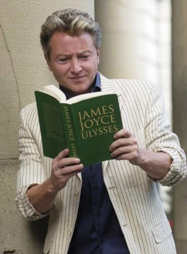 Michael Flatley Visits James Joyce exhibition