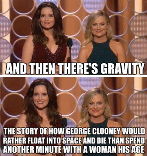 funny-Gravity-George-Clooney-tina-fey-amy-phoeler
