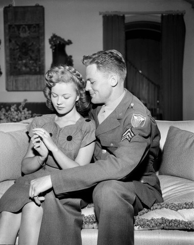 Shirley Temple and Jack Agar