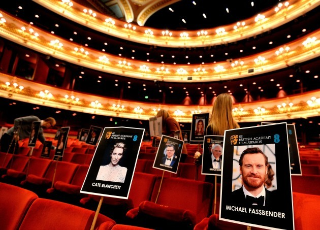 EE British Academy Film Awards - preparations