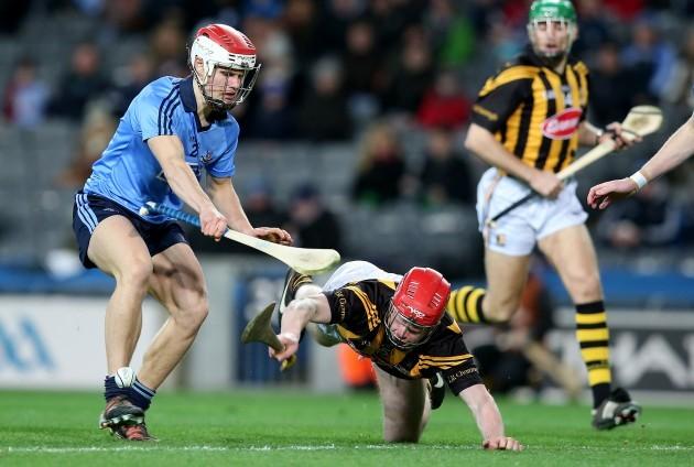 Cian O'Callaghan with Thomas Breen