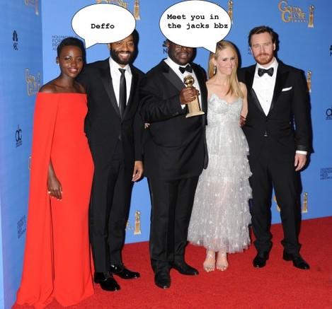 71st Annual Golden Globe Awards - Press Room - Los Angeles