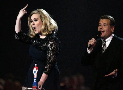 Brit Awards 2012 - Show - London