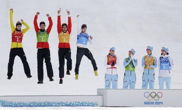 Sochi Olympics Nordic Combined Men