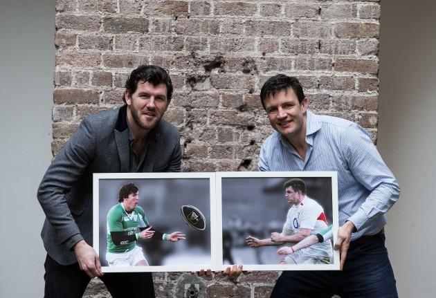 Shane Horgan and Martin Corry