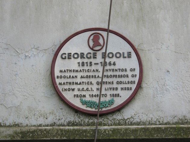 George Boole lived here