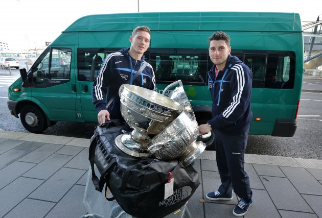 Paul Flynn and Bernard Brogan