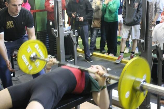 Irish powerlifter and national record holder Abigail Cronin