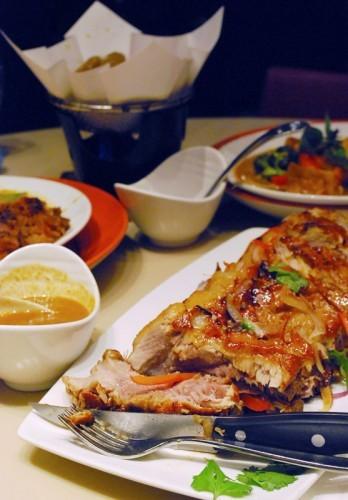 Stewed beef short ribs