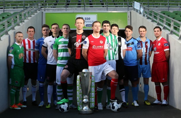 Launch of the 2014 Airtricity League Season