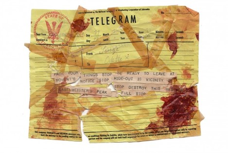 5. 'Destroyed telegram' - GBH, Twentieth Century Fox LTD
