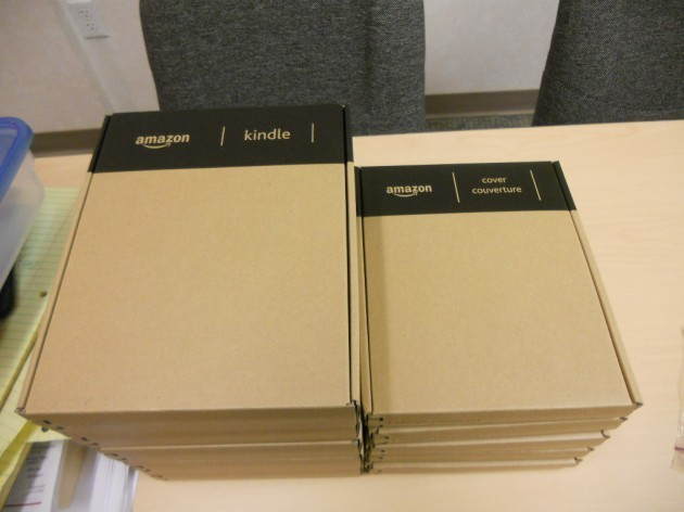 Boxed Kindles and Covers