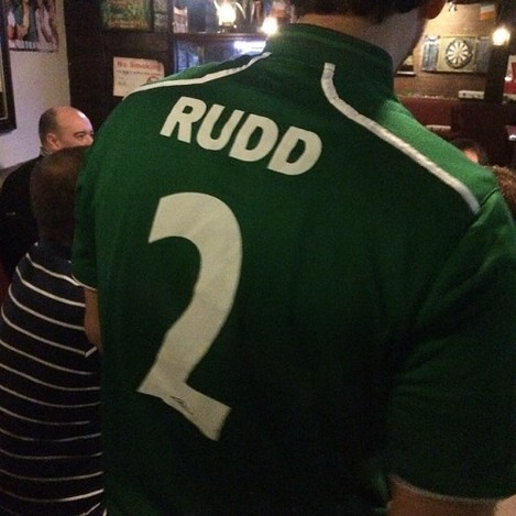 Huh? Paul plays for #ireland???... #bachelorweek