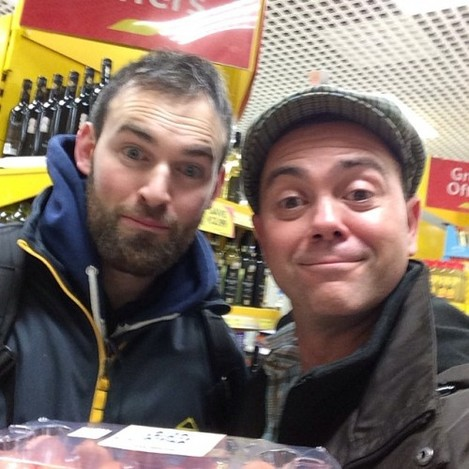 This is Michael, Brooklyn Nine-Nine fan in Sligo, Ireland. He's buying eggs. #brooklyn99