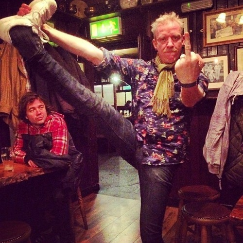 @thechrisbarron #badipadip #twoprinces #sligo #ireland #flexibility #over40 #awesome #drinking #jameson