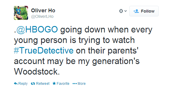 So many people tried to watch the True Detective finale, it