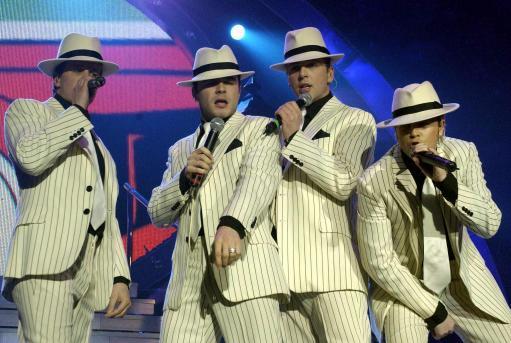Westlife concert at Wembley Arena