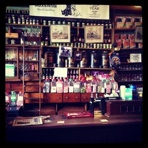 Best pub/sweetshop/grocers ever! #pub #ireland #laois #grocers #abbeyleix