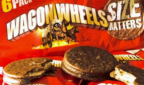 What we used to eat: Wagon Wheels
