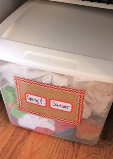 summer storage box