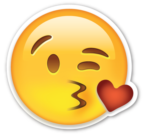 P emoticon flirting