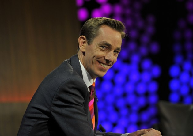 Ryan Tubridy during the 50th anniversary Late Late